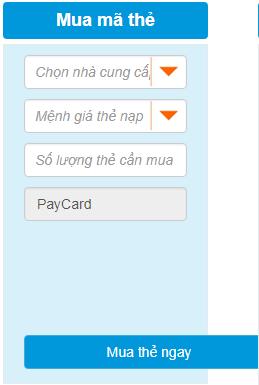 Mua thẻ điện thoại Vinaphone chiết khấu cao