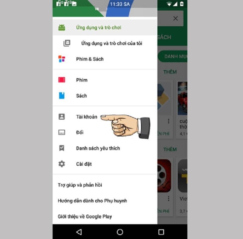 Nạp thẻ vào Google Play bằng thẻ điện thoại